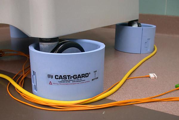 Castrgard on wheel
