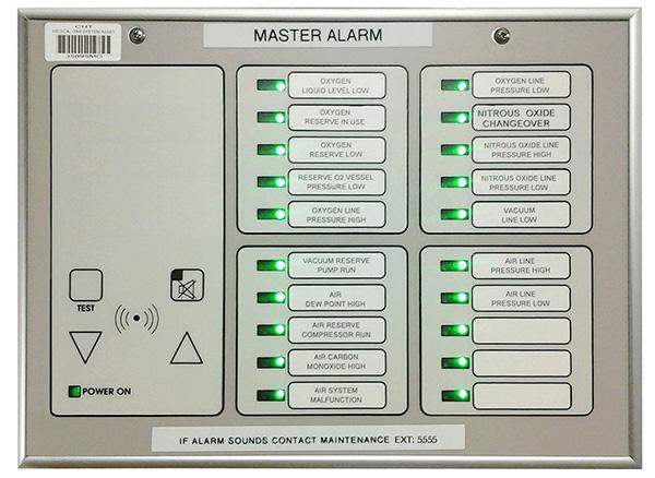 Master Alarm Panel